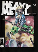 Heavy Metal Magazine January 1985 Magazine