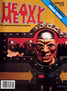 Heavy Metal Magazine August 1982 Magazine