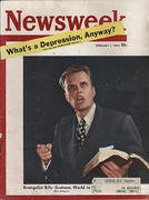 Newsweek Magazine February 1, 1954 Magazine