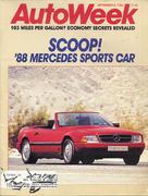 Auto Week Magazine September 8, 1986 Magazine
