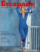 Escapade Magazine August 1959 Magazine