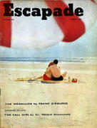 Escapade Magazine October 1958 Magazine