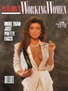 Playboy's Working Women Magazine April 1988 Magazine