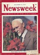 Newsweek Magazine November 10, 1947 Magazine