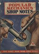 Popular Mechanics Shop Notes Magazine