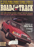 Road & Track Magazine January 1983 Magazine