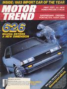 Motor Trend Magazine April 1983 Magazine