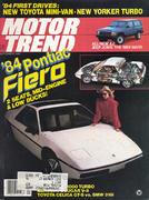 Motor Trend Magazine September 1983 Magazine