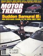 Motor Trend Magazine June 1984 Magazine