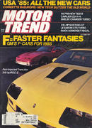 Motor Trend Magazine October 1984 Magazine