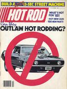 Hot Rod Magazine October 1984 Magazine