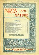 Birds And Nature Magazine March 1905 Magazine