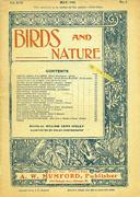 Birds And Nature Magazine May 1905 Magazine