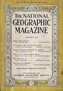 National Geographic January 1943 Magazine