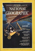 National Geographic August 1983 Magazine