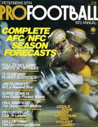 Petersen's Pro Football Annual 1972 Magazine