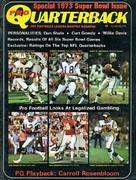 Pro Quarterback Magazine January 1973 Magazine