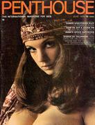 Penthouse Magazine June 1970 Magazine
