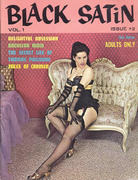 Black Satin Magazine December 1962 Magazine
