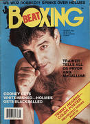 Boxing Beat Magazine August 1986 Magazine