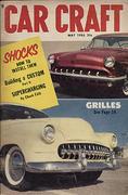 Car Craft Magazine May 1955 Magazine