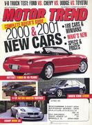 Motor Trend Magazine October 1999 Magazine