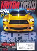 Motor Trend Magazine February 2012 Magazine