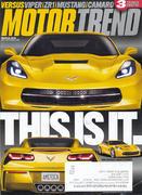 Motor Trend Magazine March 2013 Magazine