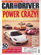 Car and Driver Magazine August 2005 Magazine