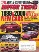 Motor Trend Magazine October 1998 Magazine