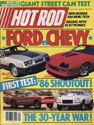Hot Rod Magazine September 1985 Magazine