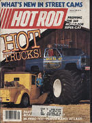 Hot Rod Magazine January 1985 Magazine