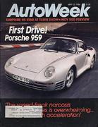 Auto Week Magazine May 12, 1986 Magazine