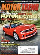 Motor Trend Magazine March 2011 Magazine