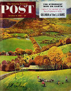 The Saturday Evening Post October 8, 1955 Magazine