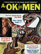 A-Ok for Men Magazine October 1962 Magazine