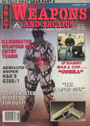 Special Weapons And Tactics Magazine August 1986 Magazine