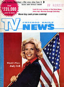 Chicago Daily TV News Magazine July 1, 1972 Magazine