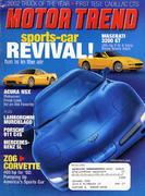 Motor Trend Magazine February 2002 Magazine
