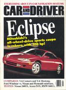 Car and Driver Magazine May 1994 Magazine