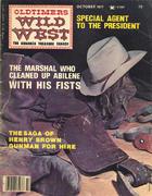Oldtimers Wild West Magazine October 1977 Magazine