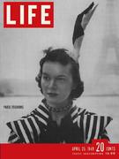 LIFE Magazine April 25, 1949 Magazine