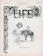 LIFE Magazine April 9, 1896 Magazine