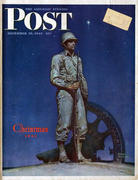The Saturday Evening Post December 25, 1943 Magazine