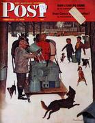 The Saturday Evening Post February 17, 1945 Magazine