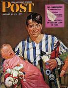 The Saturday Evening Post January 27, 1945 Magazine