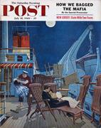 The Saturday Evening Post July 16, 1960 Magazine