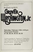 Grover Washington Jr. Poster