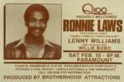 Ronnie Laws Poster