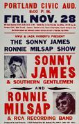 Sonny James & Southern Gentlemen Poster